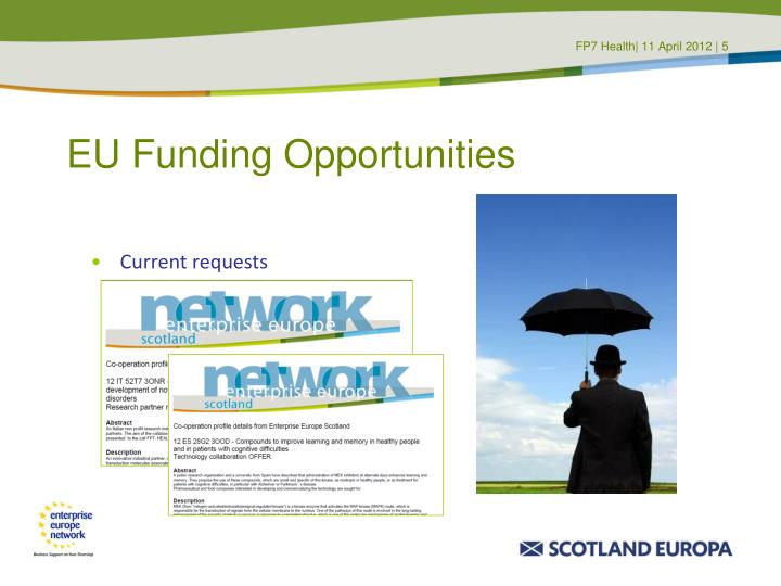 EU Funding Opportunities