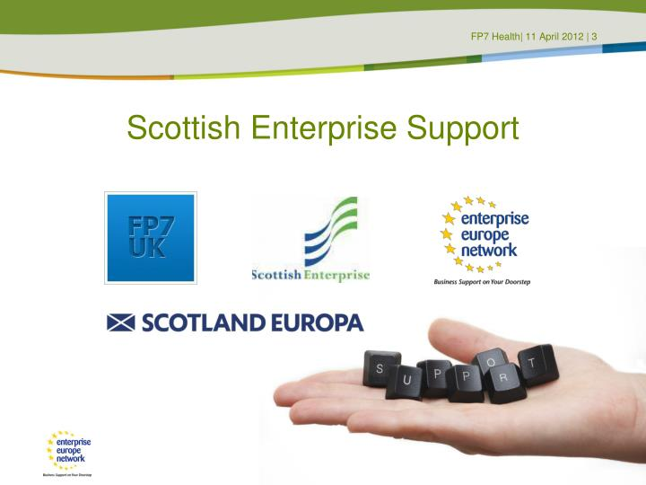 Scottish enterprise support
