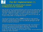 part b 2 implementation 1
