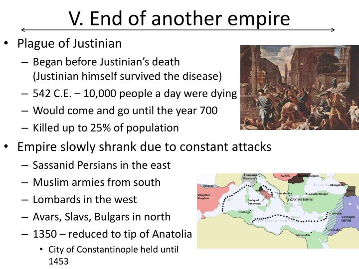 V. End of another empire