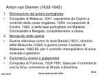 anton van diemen 1633 1645