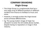 company branding virgin group