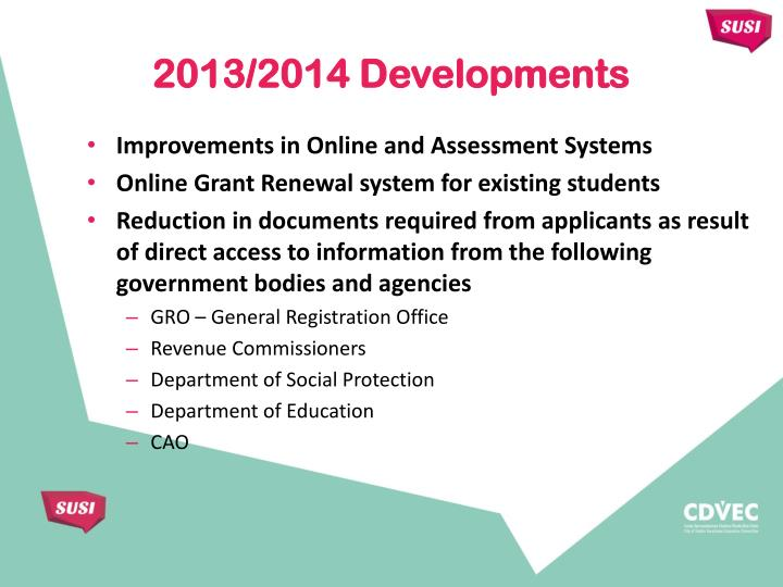 Improvements in Online and Assessment Systems
