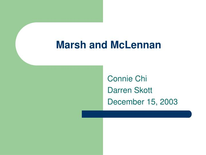 marsh and mclennan n.