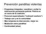 prevenci n pandillas violentas
