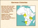 german colonies