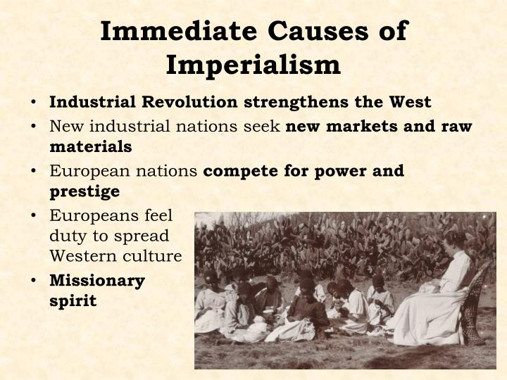 industrial revolution and imperialism Explain the main effects of the industrial revolution and imperialism connections between nationalism, industrialization and imperialism.