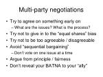 multi party negotiations2
