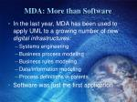 mda more than software