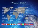 who are omg