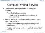 computer wiring service