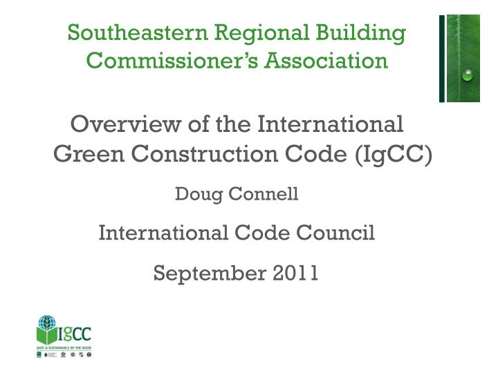 southeastern regional building commissioner s association n.