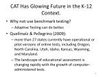 cat has glowing future in the k 12 context