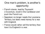 one man s problem is another s opportunity