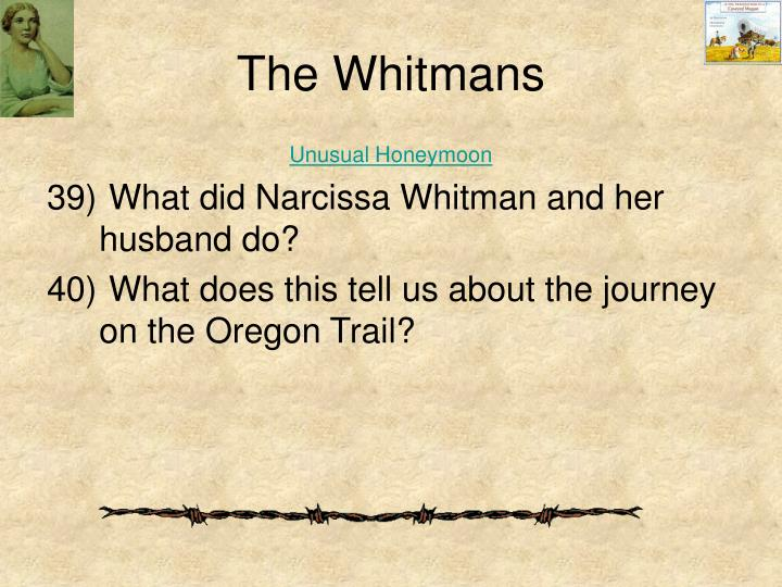 The Whitmans