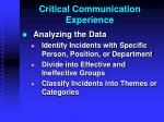 critical communication experience4