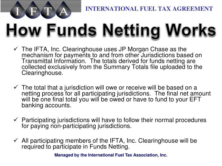How Funds Netting Works