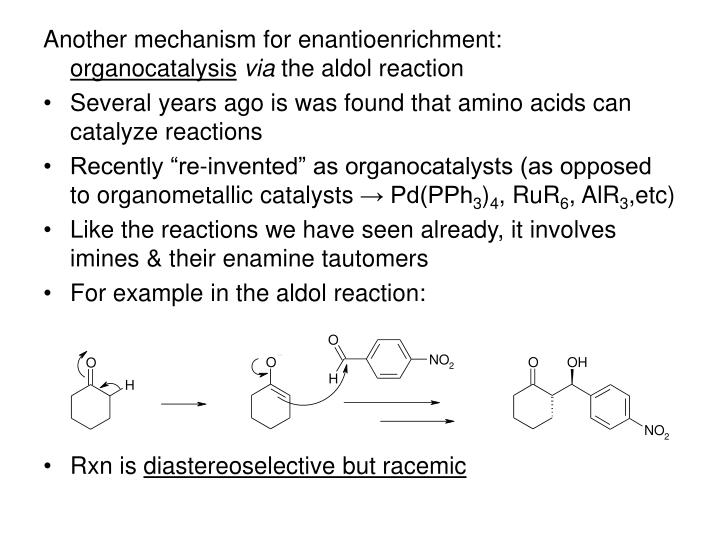 Another mechanism for enantioenrichment: