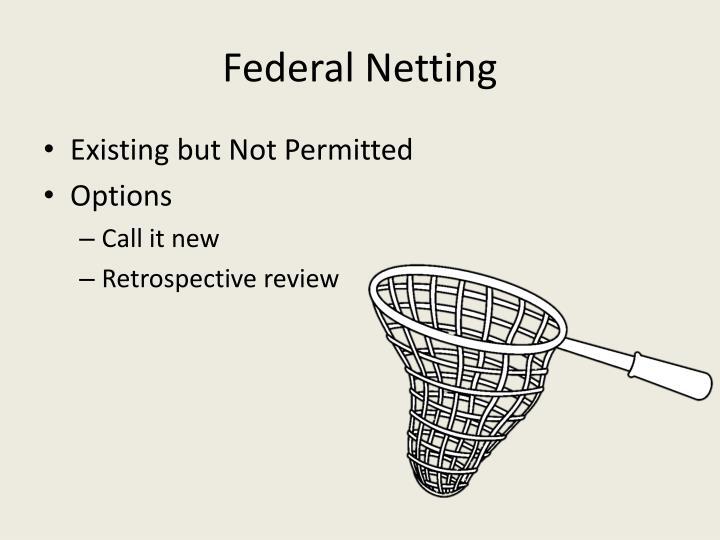 Federal Netting