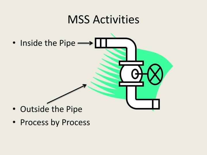 MSS Activities