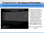 congressional job approval revisited