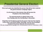 presidential general election