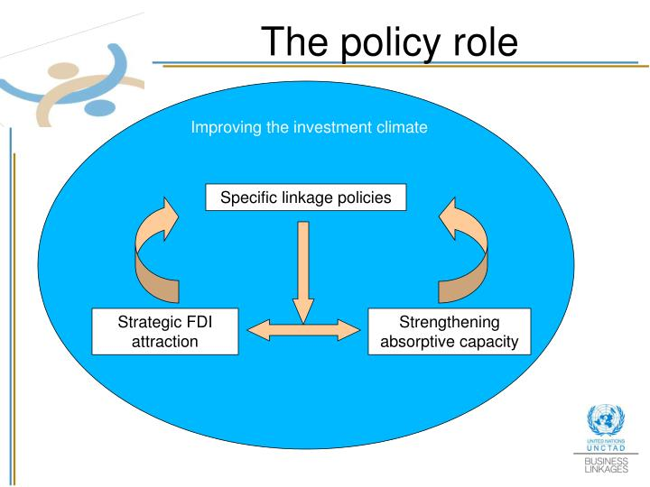 The policy role