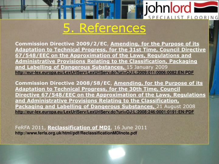 5. References
