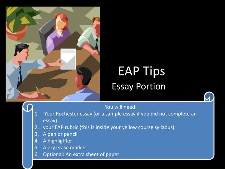 eap bus essay Austin isd's employee assistance program (eap) helping to take care of the emotional needs of all aisd all eap services are available 24/7, 100% free and confidential for any aisd employee.