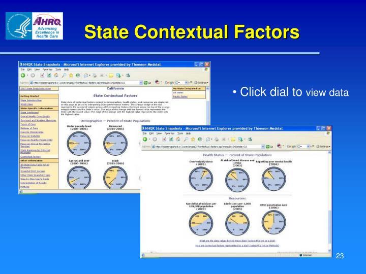 State Contextual Factors