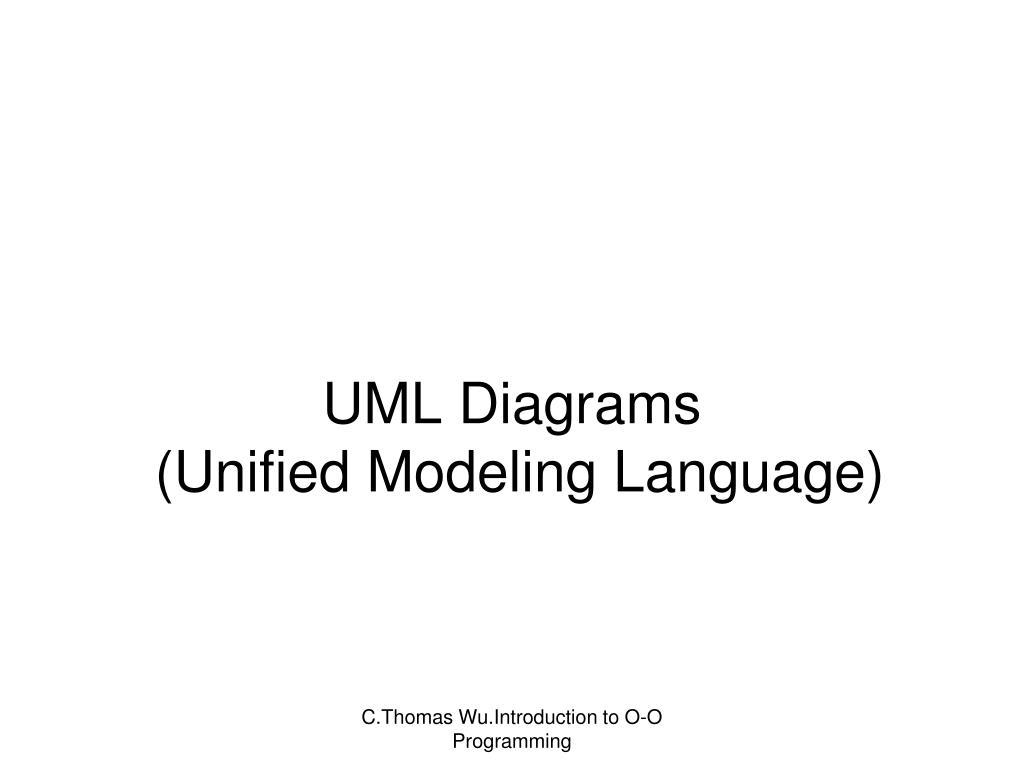 uml diagrams unified modeling language l ppt uml diagrams ( unified modeling language) powerpoint