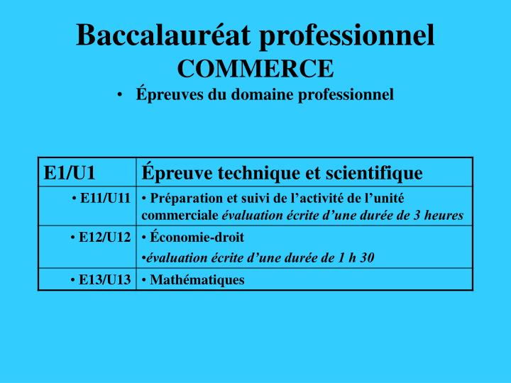 Baccalaur at professionnel commerce1
