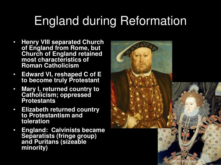 England during Reformation