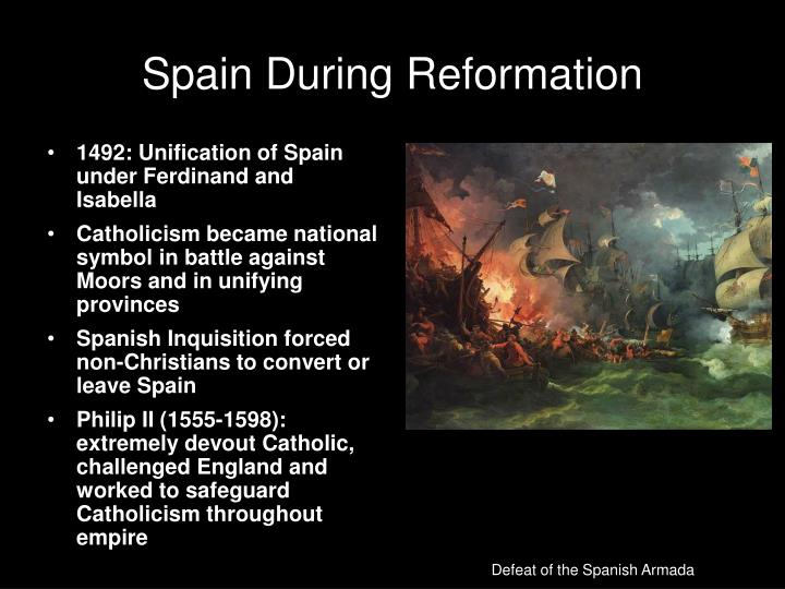 Spain During Reformation