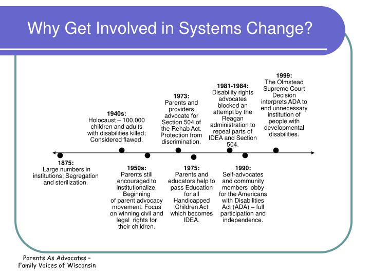 Why Get Involved in Systems Change?
