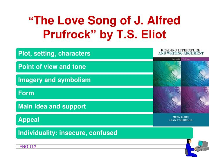 analysis of the love song Letter of recommendation: 'the love song of j my first hours with the spiky words of ts eliot's ''the love song of j alfred prufrock.