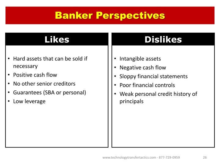 Banker Perspectives