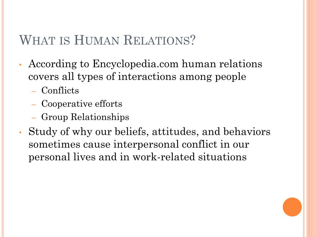 PPT - Developing Human Relation Skills PowerPoint
