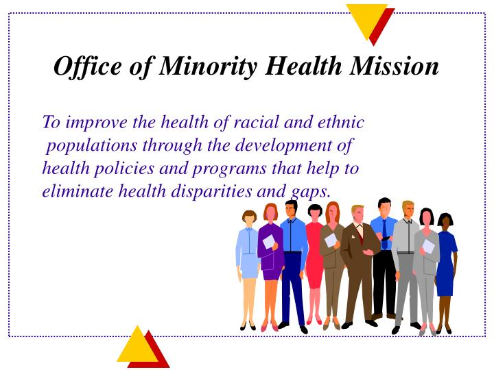 Office of minority health mission