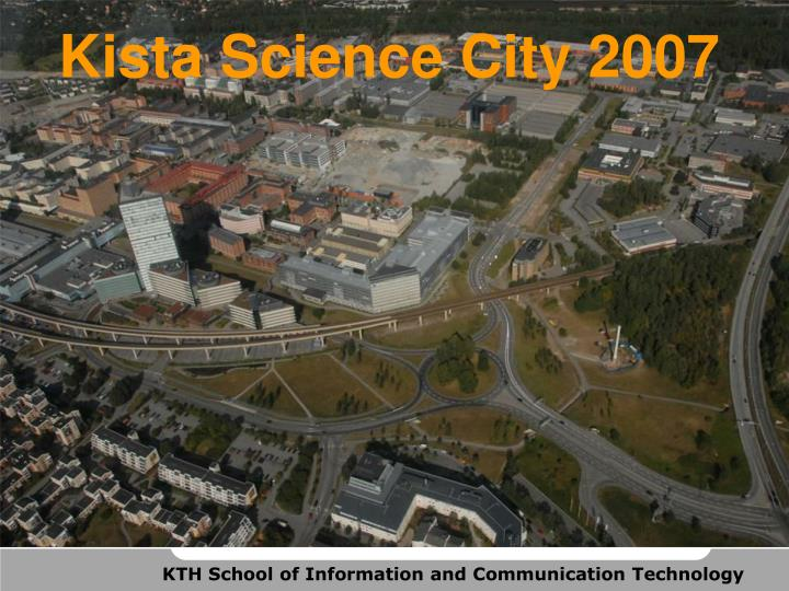 Kista Science City 2007