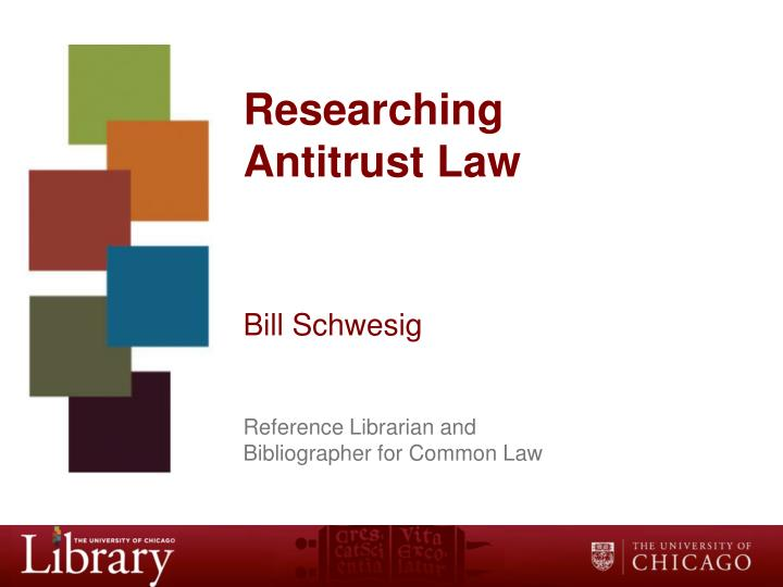 antitrust research paper