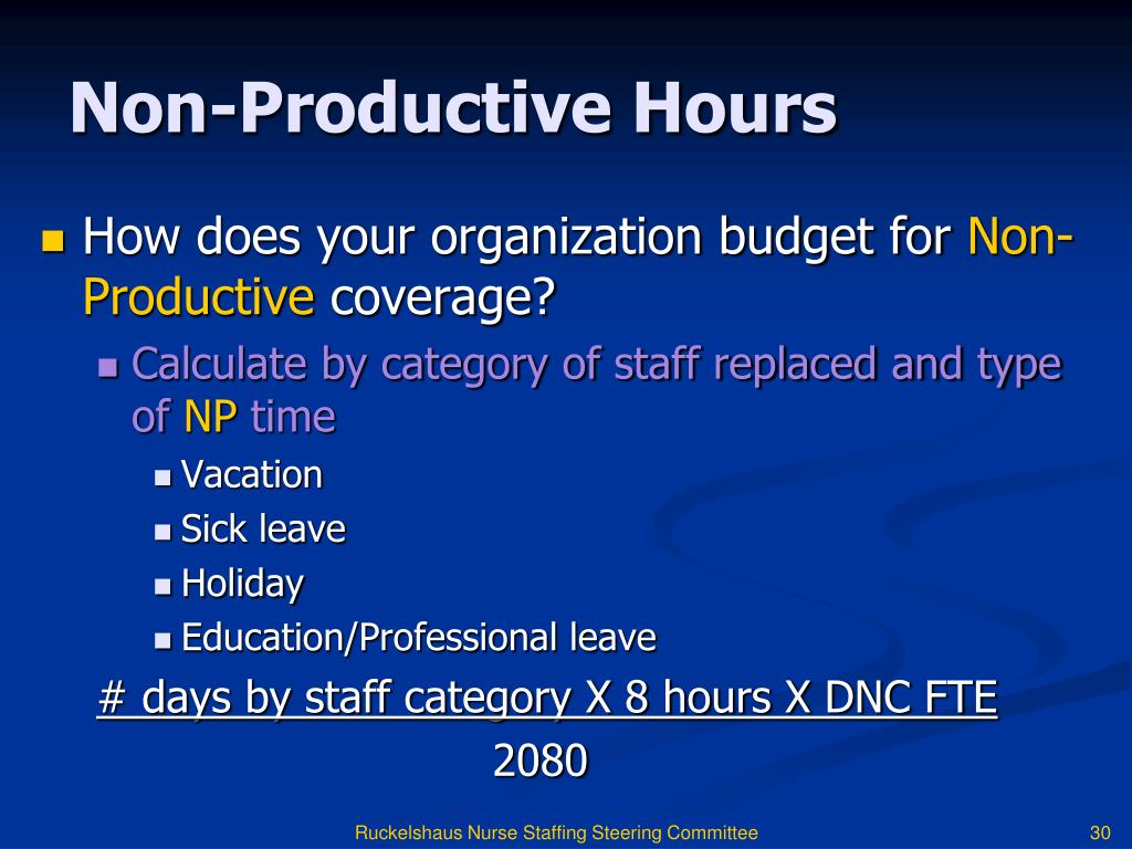 PPT - BRINGING YOUR NURSE STAFFING COMMITTEE TO LIFE: Staffing