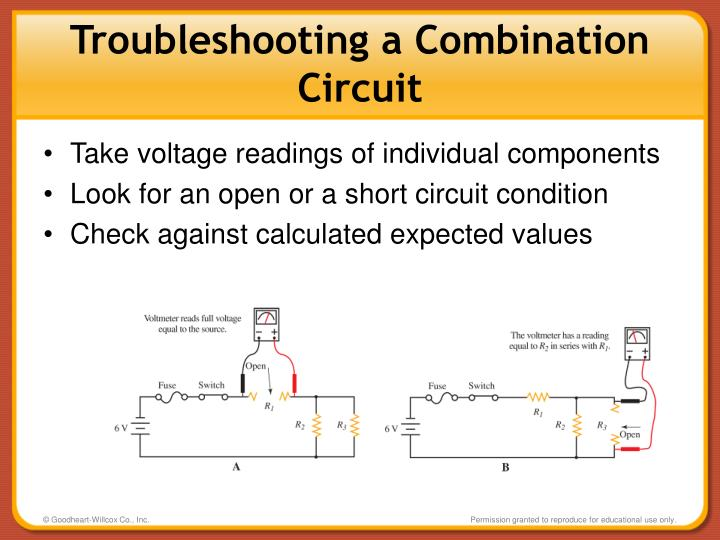Troubleshooting a Combination Circuit