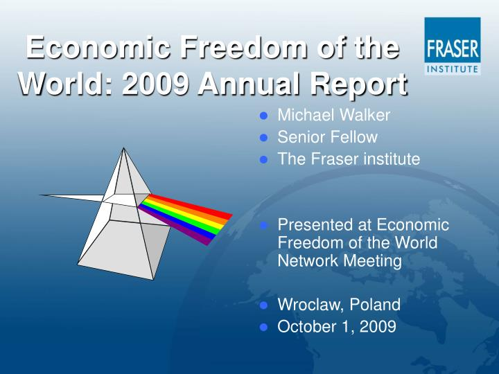 economic freedom of the world 2009 annual report n.