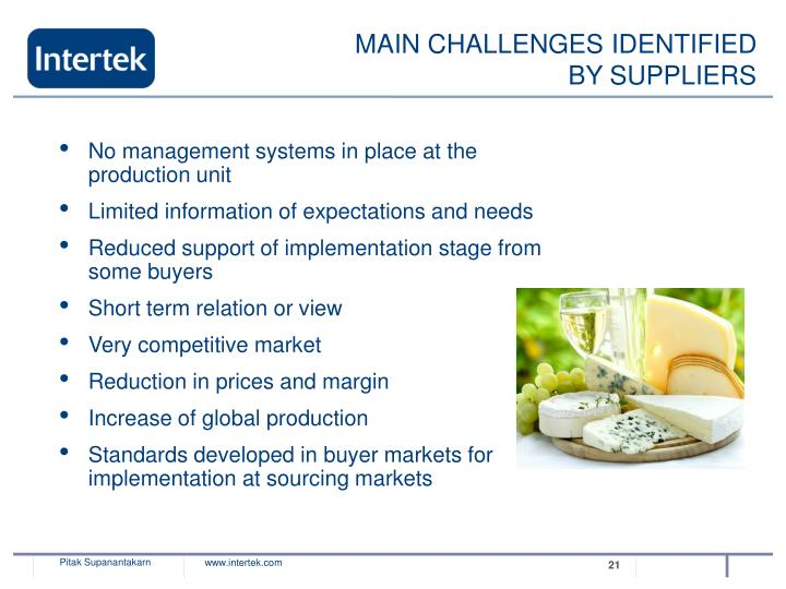 Identify some of the major challenges confronting the international trading system
