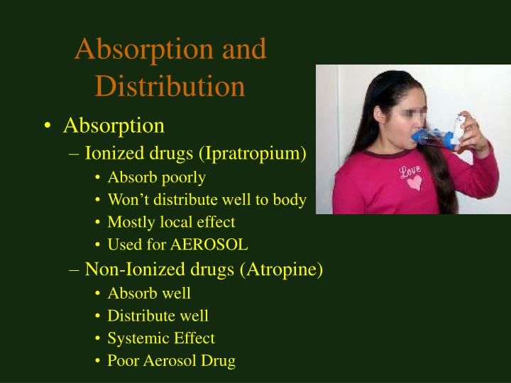 Absorption and Distribution