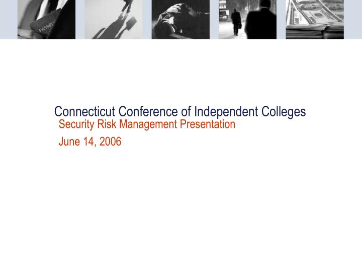 Connecticut conference of independent colleges