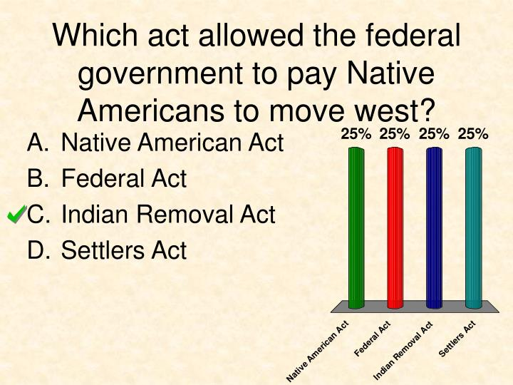 the federal governments approach with native Native americans and the federal government andrew boxer this new approach to native americans was enthusiastically endorsed by john collier, who.