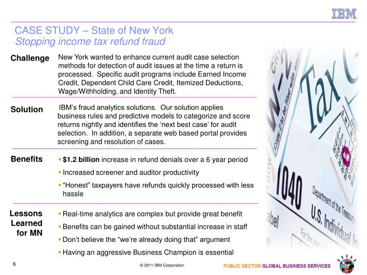 CASE STUDY – State of New York