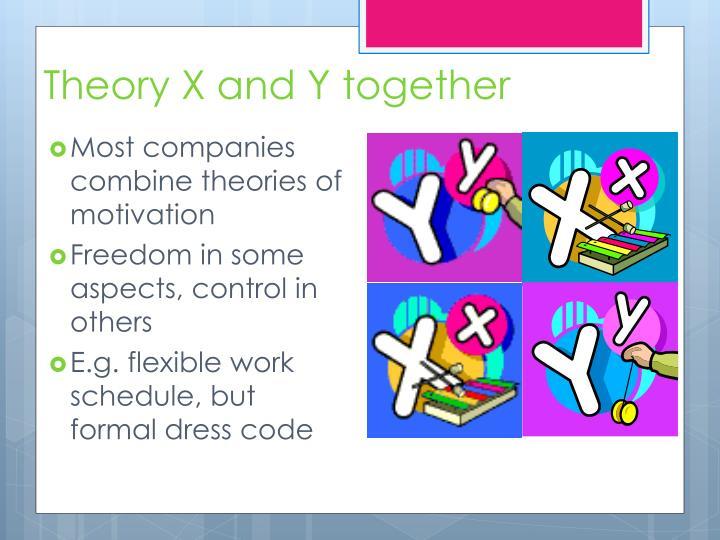 theory x companies